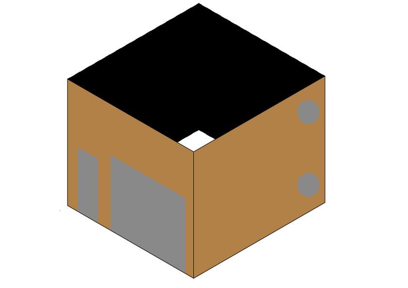 車庫のイメージ図