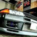 ガレージのGT-R