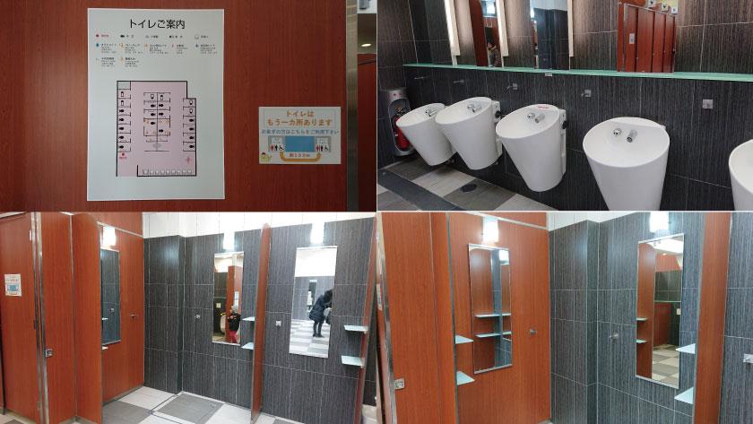 淡路サービスエリア(下り)のサブ女子トイレ