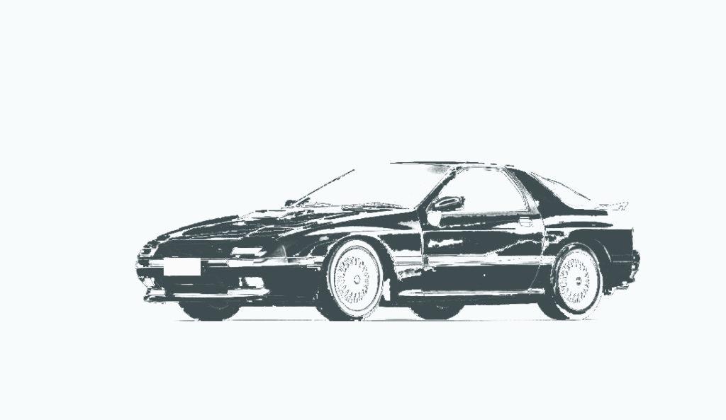 RX-7(FC3S)の中古車